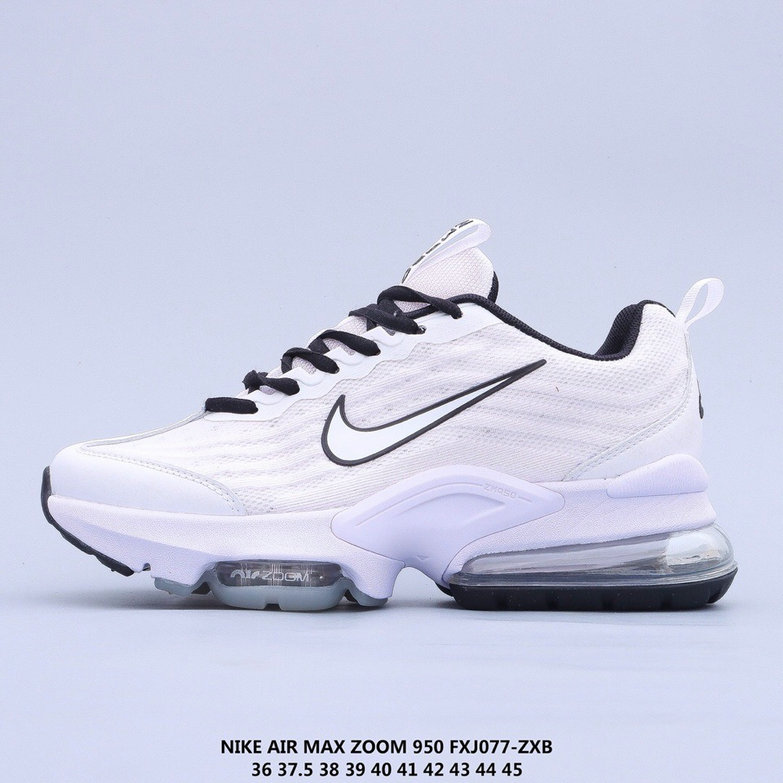 2021 Where To Buy Cheap Womens Nike Air Max 950 White Black On VaporMaxRunning