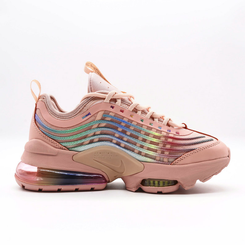 2021 Womens Cheap Nike Air Max ZOOM 950 Rose Pink On VaporMaxRunning