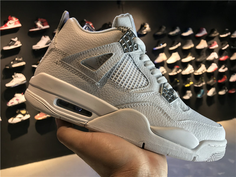 2018 New Jordan Shoes Cheap Air Jordan 4 Pure Money 308497-100 On VaporMaxRunning