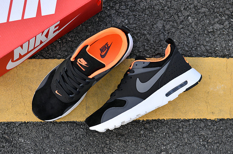 check out 67417 9f284 Air Maxs Cheap Nike Air Max 87 Mens Orange Grey White Black 2018 New Arrival  On