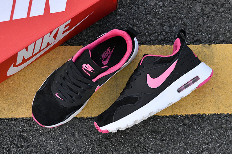 Air Maxs Cheap Nike Air Max 87 Womens Pink Black White 2018 New Arrival On VaporMaxRunning