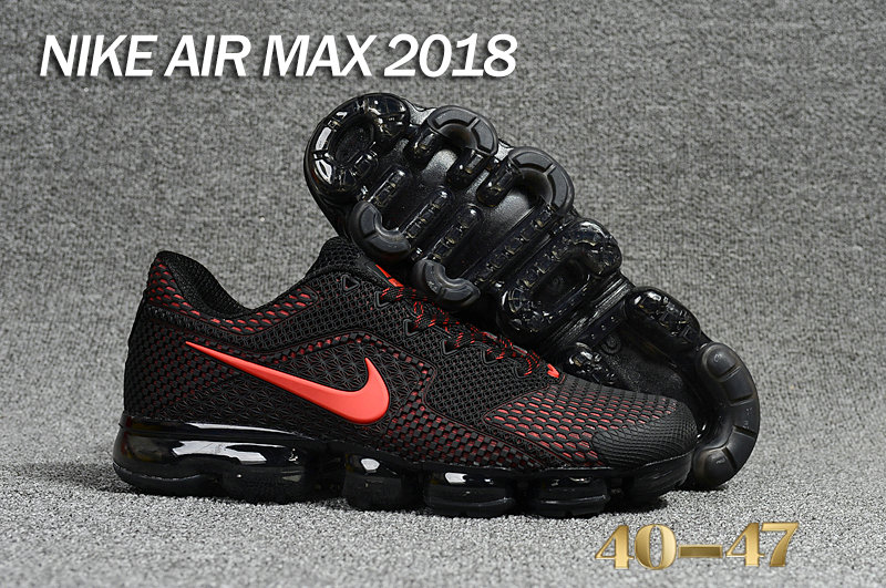 Air Maxs Cheap Nike Air Max Day 2018 Black Red On VaporMaxRunning