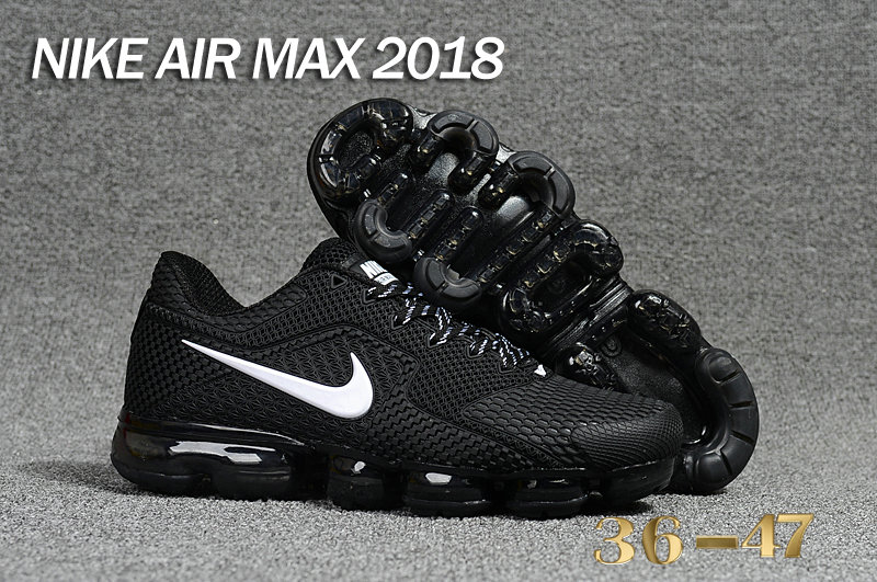 Air Maxs Cheap Nike Air Max Day 2018 Black White On VaporMaxRunning