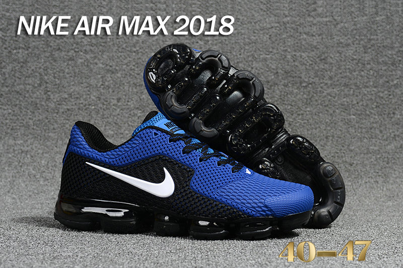 Air Maxs Cheap Nike Air Max Day 2018 Blue Black On VaporMaxRunning