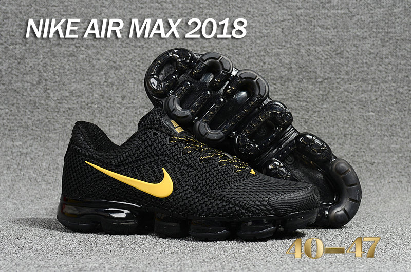 Air Maxs Cheap Nike Air Max Day 2018 Gold Black On VaporMaxRunning