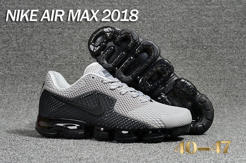 Air Maxs Cheap Nike Air Max Day 2018 Grey Black On VaporMaxRunning
