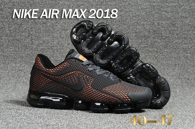 Air Maxs Cheap Nike Air Max Day 2018 Orange Black On VaporMaxRunning
