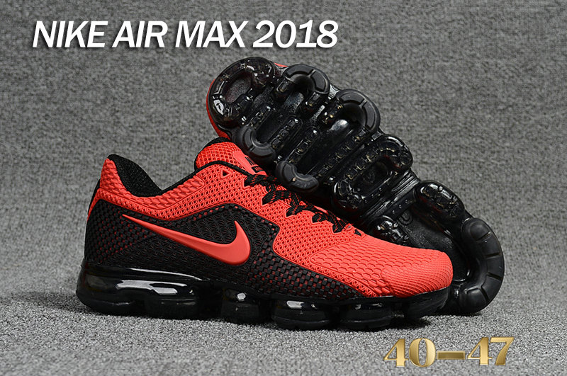 Air Maxs Cheap Nike Air Max Day 2018 Red Black On VaporMaxRunning