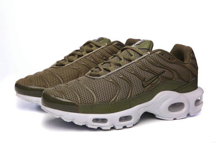 new concept df25d 9f2f5 Air Maxs Cheap Nike Air Max TN Plus Olive White On VaporMaxRunning