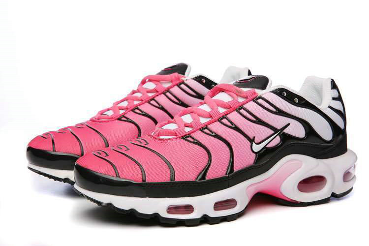 buy online dffd1 92092 Air Maxs Cheap Nike Womens Air Max TN Plus Pink Black White ...