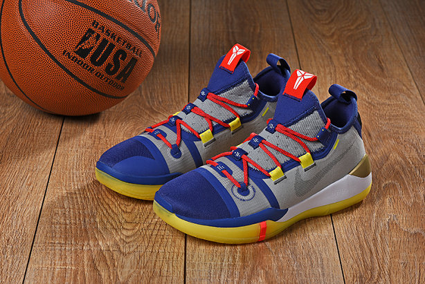 CHEAP NIKES KOBE AD MAMBA DAY BLUE RED GERY YELLOW On VaporMaxRunning