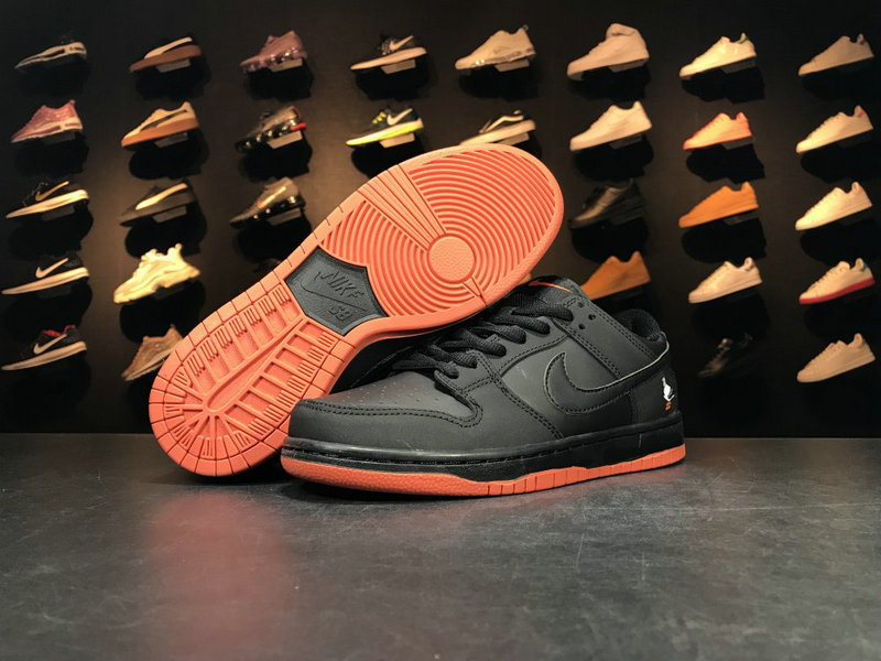 Cheap 883232 008 Orange Black NIKE SB DUNK On VaporMaxRunning