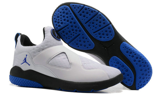 Cheap Air Jordan 8 Trainer Essential White Blue Black On VaporMaxRunning