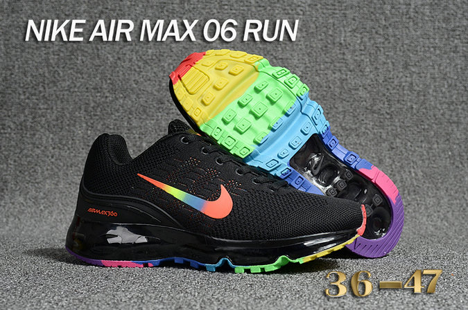 Cheap Air Max 360 Be True Colorful Running Shoes On VaporMaxRunning
