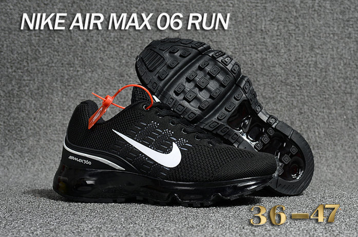 Cheap Air Max 360 Black White Running Shoes On VaporMaxRunning