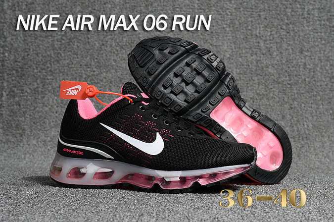 Cheap Air Max 360 Pink Black Running Shoes On VaporMaxRunning