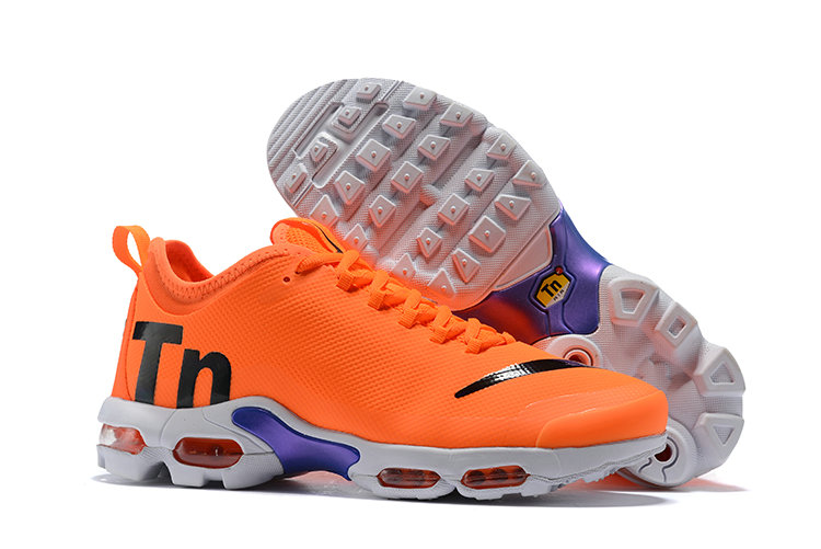 Cheap Air Max Plus TN Ultra SE Orange Black Blue White On VaporMaxRunning