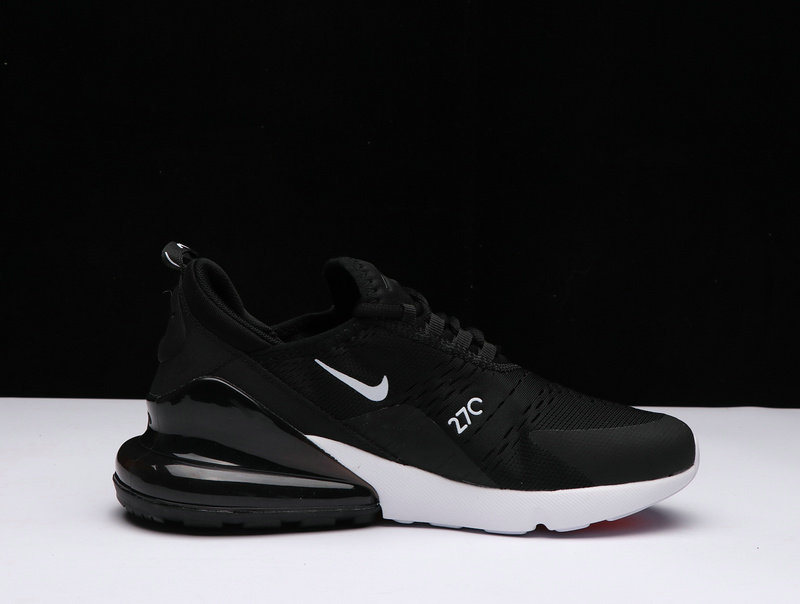 New 2018 Air Max Cheap x Nike Air Max 270 Black White AH8050-002 On ... 4e2e64fd4