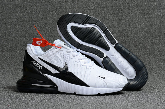 New 2018 Air Max Cheap x Nike Air Max 270 White Black On