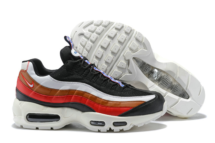New 2018 Air Max Cheap x Nike Air Max 95 Pull Tab Pack Black Red White Gold On VaporMaxRunning