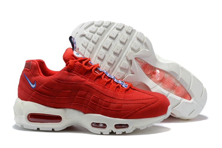 New 2018 Air Max Cheap x Nike Air Max 95 Pull Tab Pack Red White On VaporMaxRunning