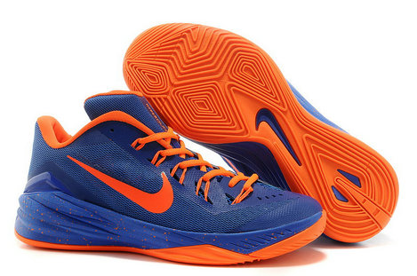 Cheap Hyperdunk 2014 Low Blue Orange On VaporMaxRunning