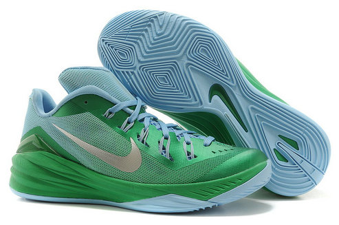 Cheap Hyperdunk 2014 Low Green Grey Blue On VaporMaxRunning