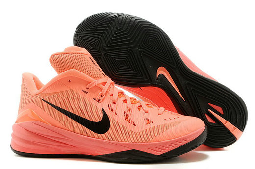 Cheap Hyperdunk 2014 Low Orange Black On VaporMaxRunning