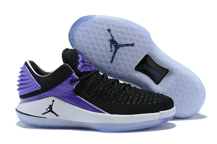 New 2018 Air Jordans Cheap x Air Jordan XXX2 Purple Black White On VaporMaxRunning