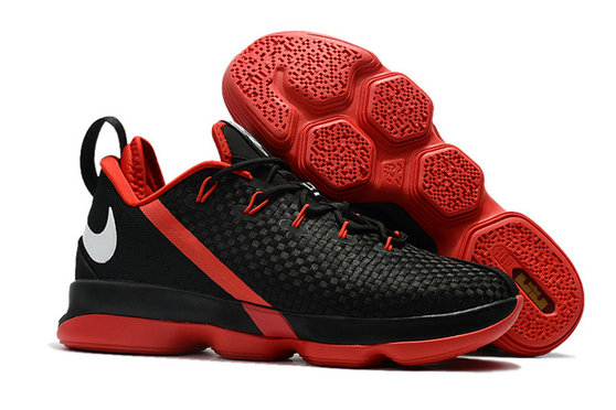 Cheap Lebr On 14 Low Red Black White Basketball ShoesOn VaporMaxRunning