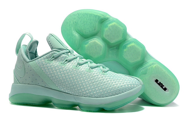 Cheap Lebr On 14 Low Tiffany Green Basketball ShoesOn VaporMaxRunning