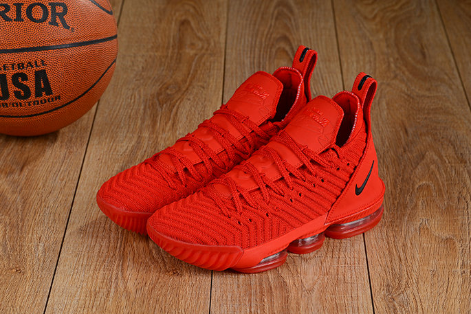 Cheap Lebron 16 Shoes Total Red