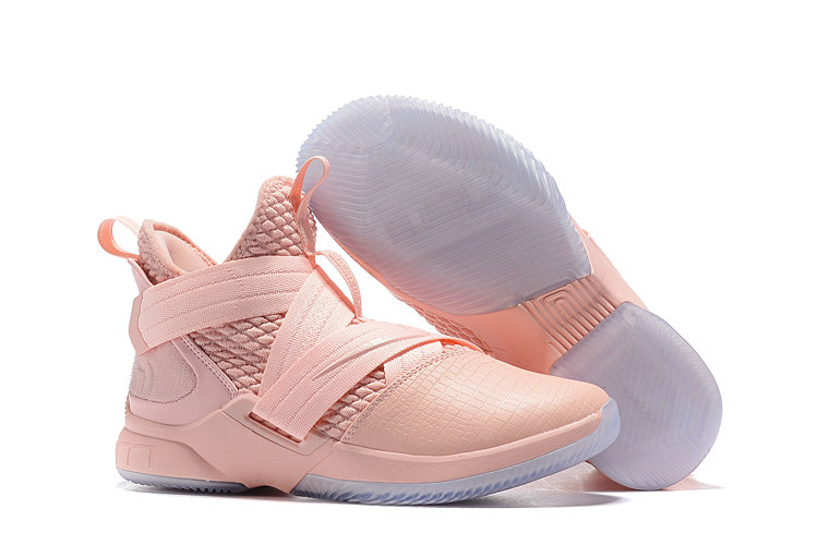 Cheap Lebron Soldier 12 Pink Bright