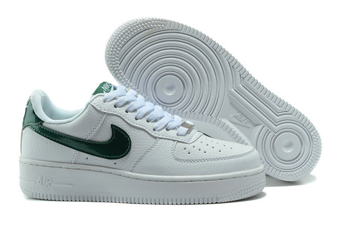 Cheap Nike AF1 Womens Nike Air Force One White Green On VaporMaxRunning