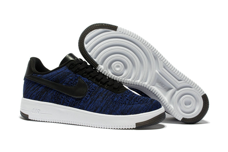 New 2018 Nike AF1 Cheap x Nike Air Force 1 Low Ultra Flyknit Game Blue On VaporMaxRunning