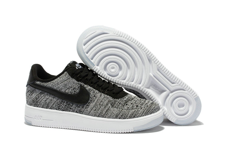 New 2018 Nike AF1 Cheap x Nike Air Force 1 Low Ultra Flyknit Midnight Fog Silt Red-Ivory-String On VaporMaxRunning