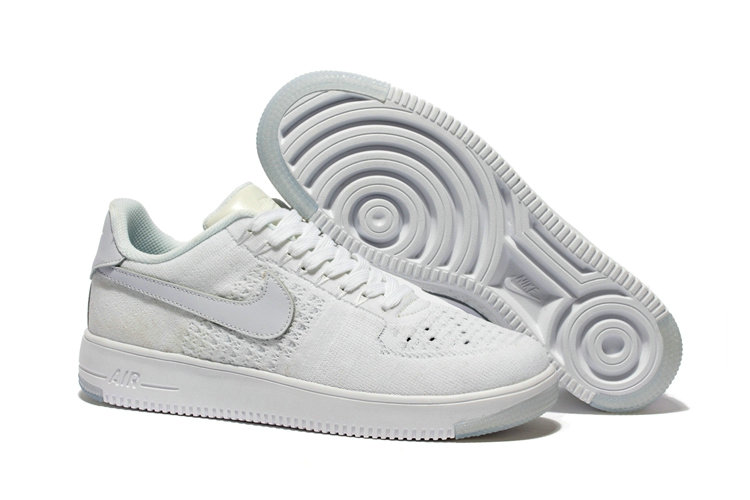New 2018 Nike AF1 Cheap x Nike Air Force 1 Low Ultra Flyknit White On VaporMaxRunning