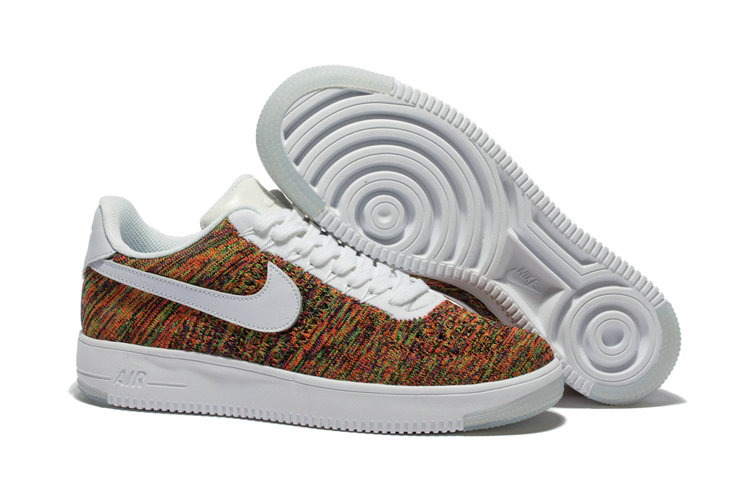 New 2018 Nike AF1 Cheap x Nike Air Force 1 Ultra Flyknit Low in Multicolor On VaporMaxRunning