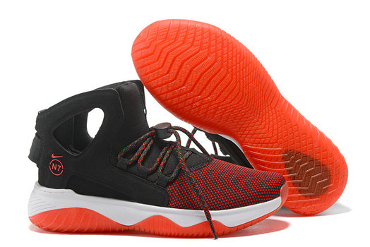 Cheap Nike Air Flight Huarache Red Black White On VaporMaxRunning