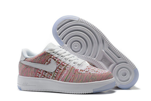 Cheap Nike Air Force 1 Flyknit Womens White Colorful On VaporMaxRunning
