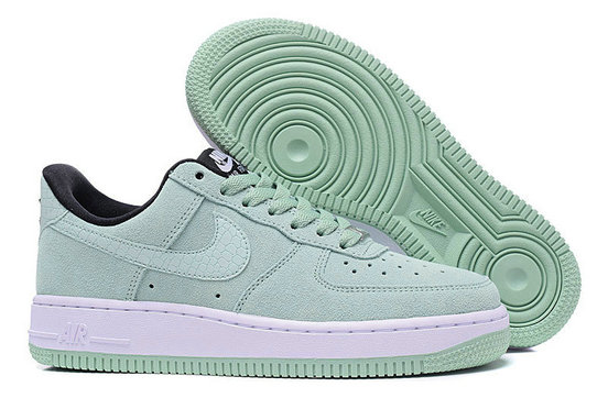 Cheap Nike Air Force 1 Low Grass Green White Black On VaporMaxRunning