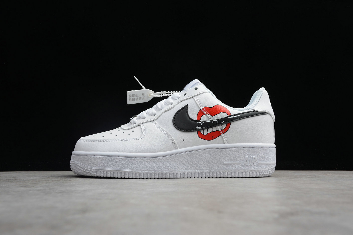 Cheap Nike Air Force 1 Mid 07 AO3620-108 White Black Blanc Noir