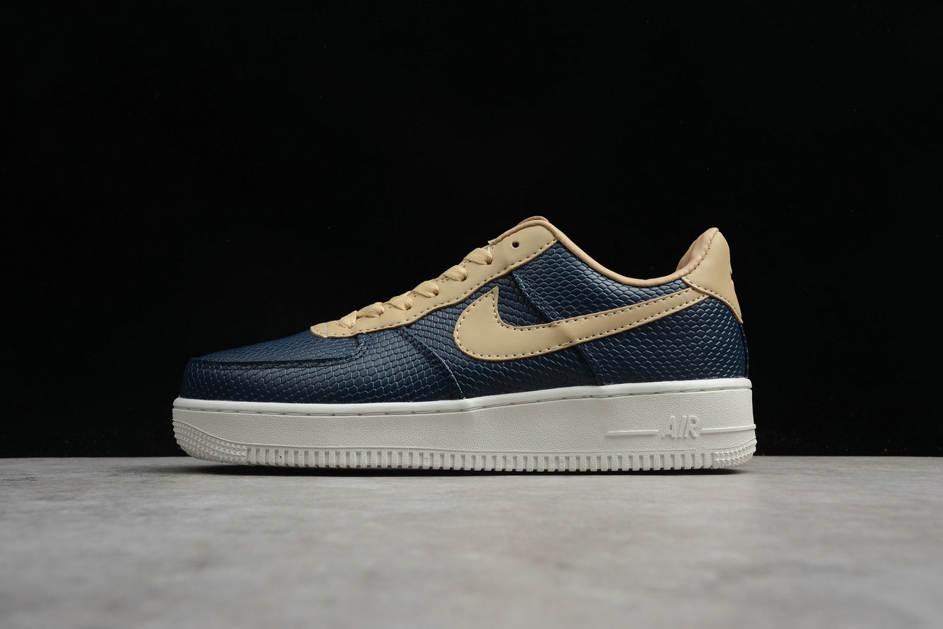 Cheap Nike Air Force 1 UPSTEP DK.BLUE