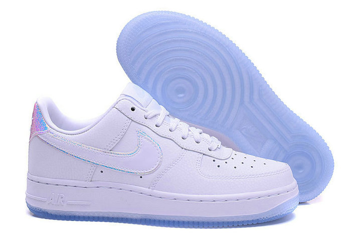 Cheap Nike Air Force 1 low 07 AF1 PRM Womens White Light Blue On VaporMaxRunning