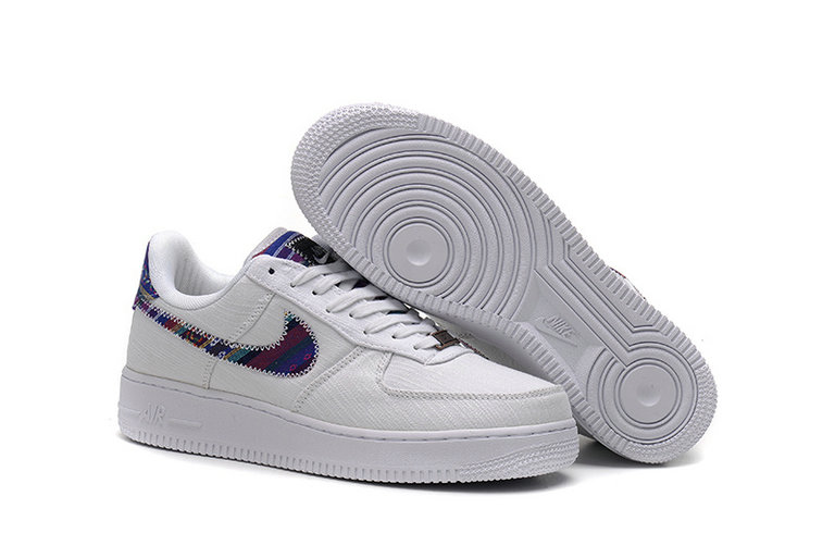Cheap Nike Air Force One Nike AF1 07 Mens White On VaporMaxRunning