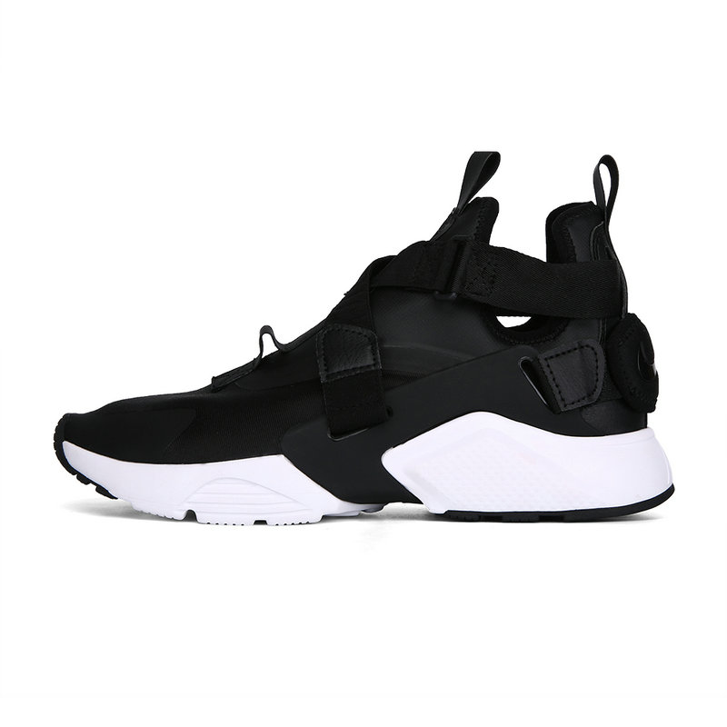 Cheap Nike Air Huarache Run iD Black White On VaporMaxRunning