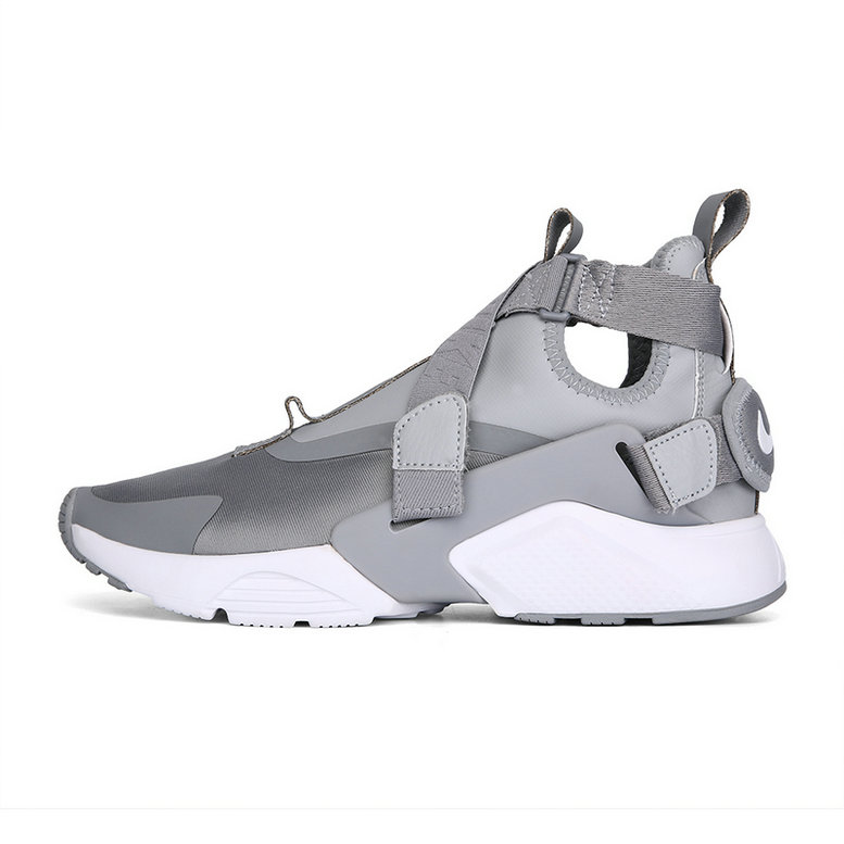 Cheap Nike Air Huarache Run iD Grey White On VaporMaxRunning