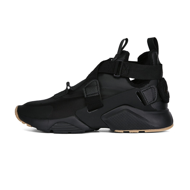 Cheap Nike Air Huarache Run iD Total Black On VaporMaxRunning