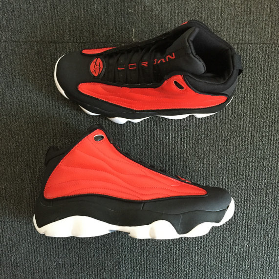 Cheap Nike Air Jordan 13.5 Pro Strong University Red Black White