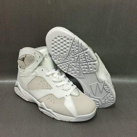 Cheap Nike Air Jordan 7 VII Grey White On VaporMaxRunning